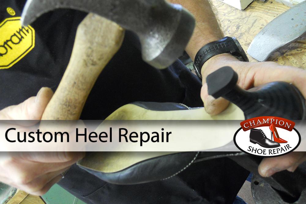 5449e6784d3e0e Custom Heel Repair